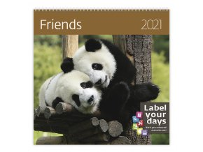 Kalendář Friends