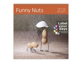 Kalendář Funny Nuts