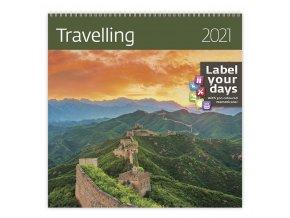 Kalendář Travelling