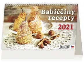 Kalendář Babiččiny recepty