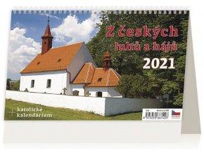 Kalendář Z českých luhů a hájů
