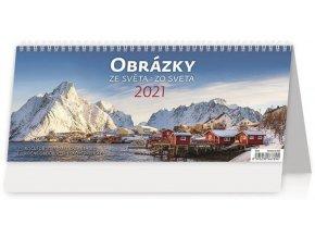 Kalendář Obrázky ze světa