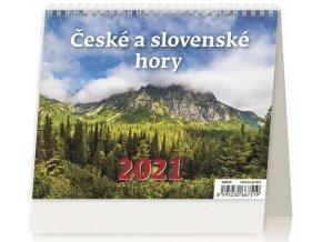 Kalendář České a slovenské hory