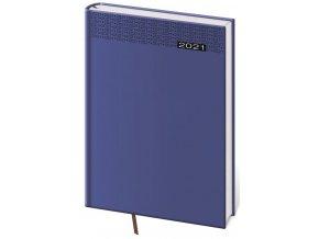 Denní diář A5 Gommato modrý