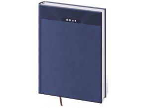 Denní diář A4 Print modrý