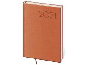 Denní diář A5 Print oranžový