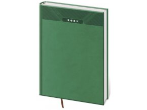 Denní diář A5 Print zelený