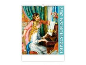 Kalendář Impressionism