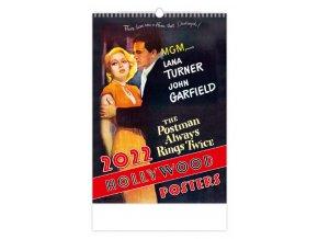 Kalendář Hollywood Posters