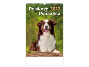 Kalendář Pejskové/Psíčkovia