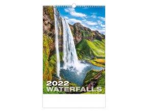 Kalendář Waterfalls