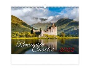 Kalendář Romantic Castles