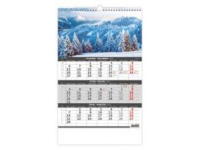 Tříměsíční kalendář Hory/Hory - 3mesačné