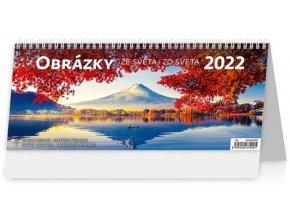 Kalendář Obrázky ze světa/Obrázky zo sveta