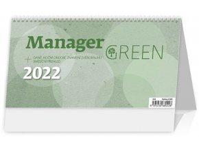 Kalendář Manager Green