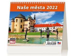 Kalendář MiniMax Naše města