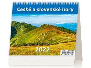 Kalendář MiniMax České a slovenské hory