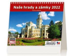 Kalendář MiniMax Naše hrady a zámky