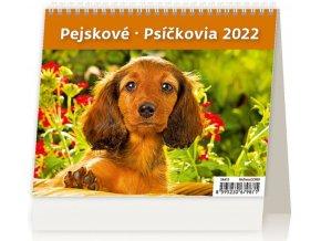 Kalendář MiniMax Pejskové/Psíčkovia