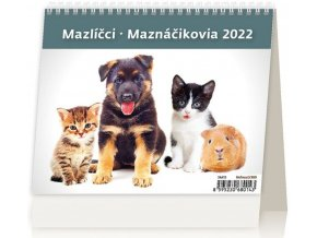 Kalendář MiniMax Mazlíčci/Maznáčikovia