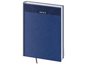 Denní diář A5 Print - modrá