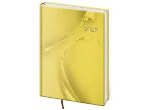 Týdenní diář A5 Vario - Yellow design
