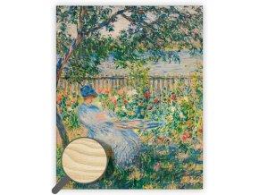 Dřevěný obraz Impressionism