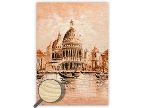 Dřevěný obraz Venezia II.