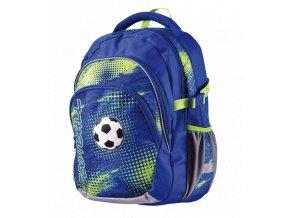 Školní batoh anatomický Junior Football II s dárkem  + dárek dle vlastního výběru