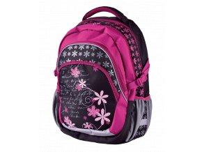 Školní batoh teen Romance s dárkem  + dárek dle vlastního výběru