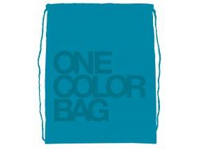 Studentský vak One Colour tyrkys