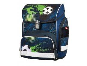 Školní aktovka Football 3 s dárkem  + zdarma dárek dle vlastního výběru