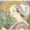 Kalendář Alfons Mucha - vázanka