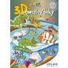 3D omalovánky Ryba a chameleon