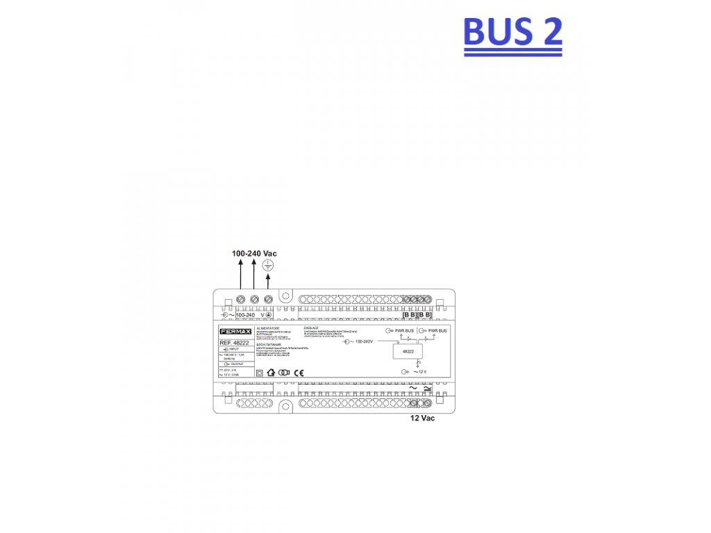 REF.48222 BUS2 KOMBINOVANÝ NAPÁJECÍ ZDROJ