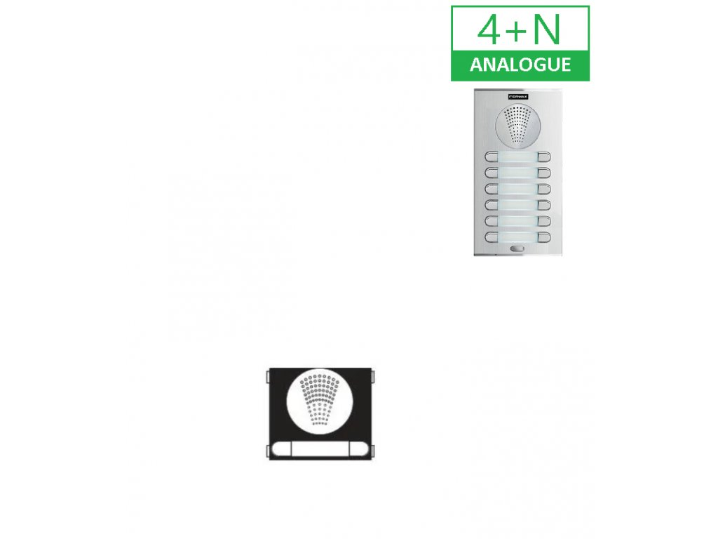 PVT.9675 AP201 MODUL 4+N AUDIO CITY LINE