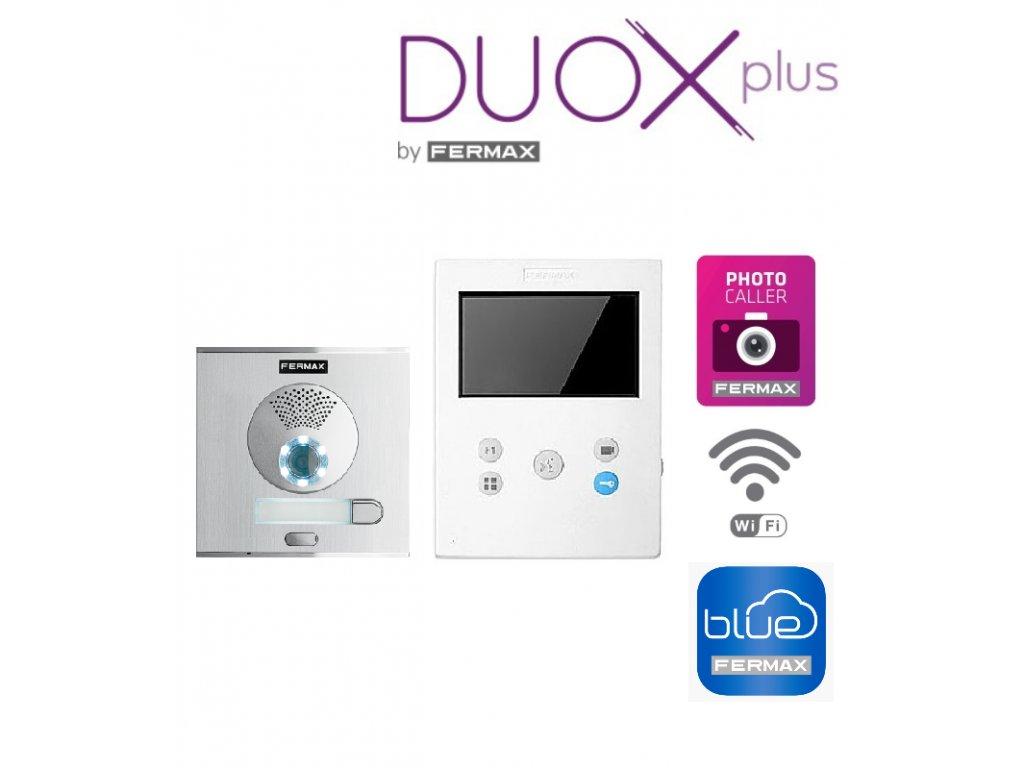 """REF.94511 DUOX PLUS VEO-XS 4,3"""" WiFi 1W CITY VIDEO SOUPRAVA"""