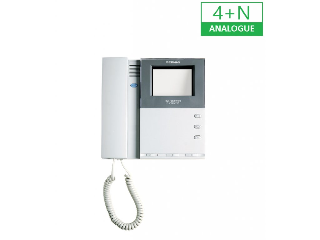 REF.8022 4+N CITYMAX BASIC čb. VIDEOTELEFON