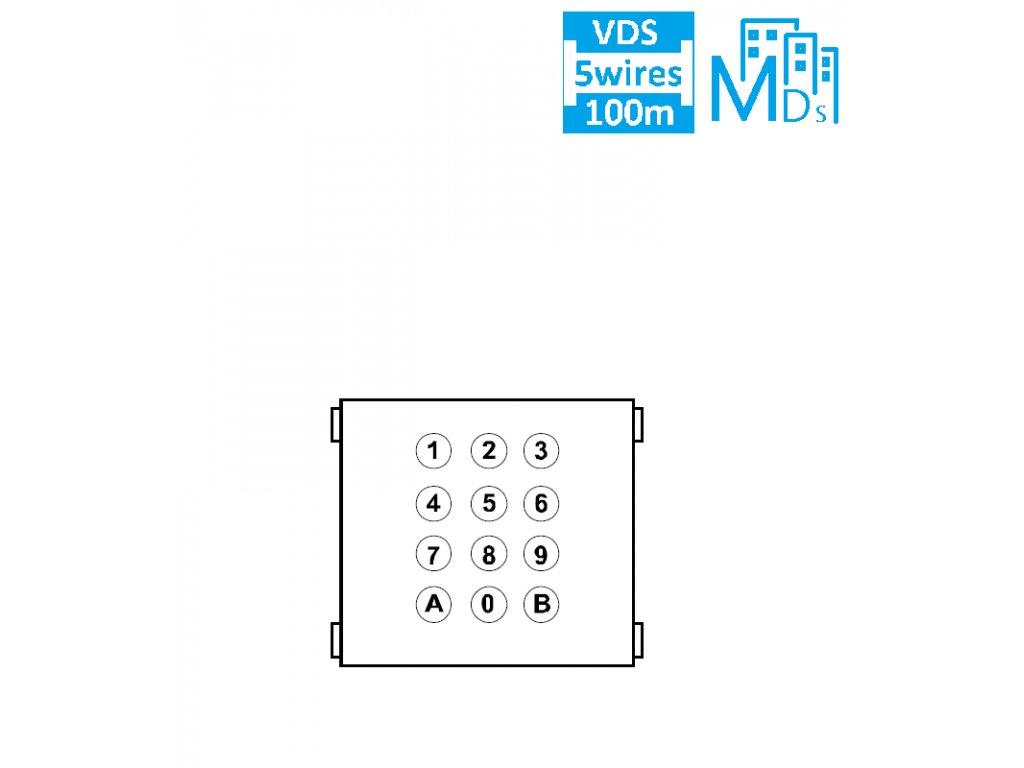 PVT.9642 MDS/VDS MODUL DIGITAL KLÁVESNICE CITY LINE