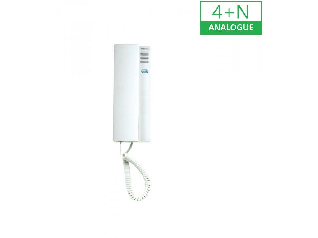 REF.80447 4+N DOMOVNÍ TELEFON CITY MAX BASIC BÍLÝ