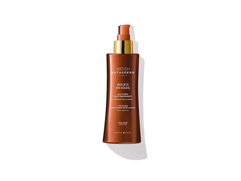 SUN SHEEN Light tan self-tanning body lotion  Samoopaľovacie telové mlieko 200ml