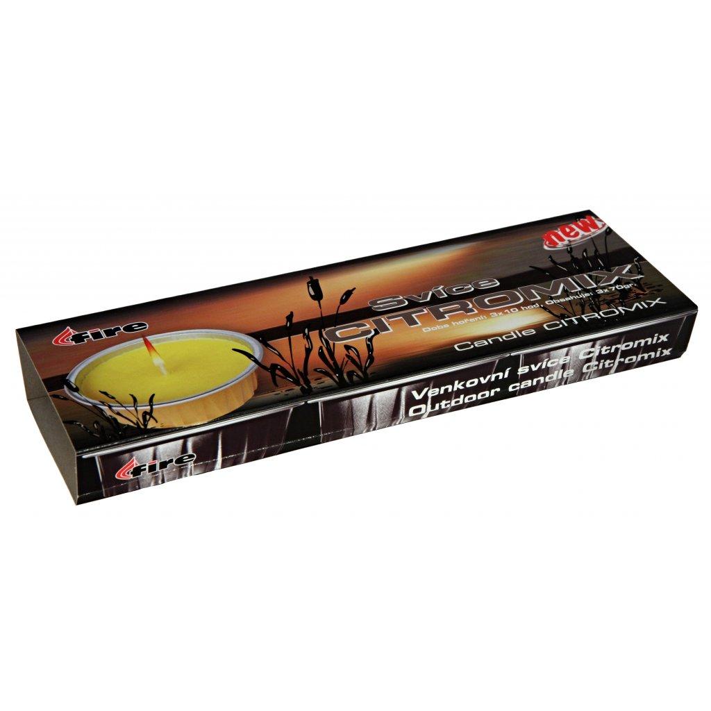 41511 Svíce citromix 3x70g