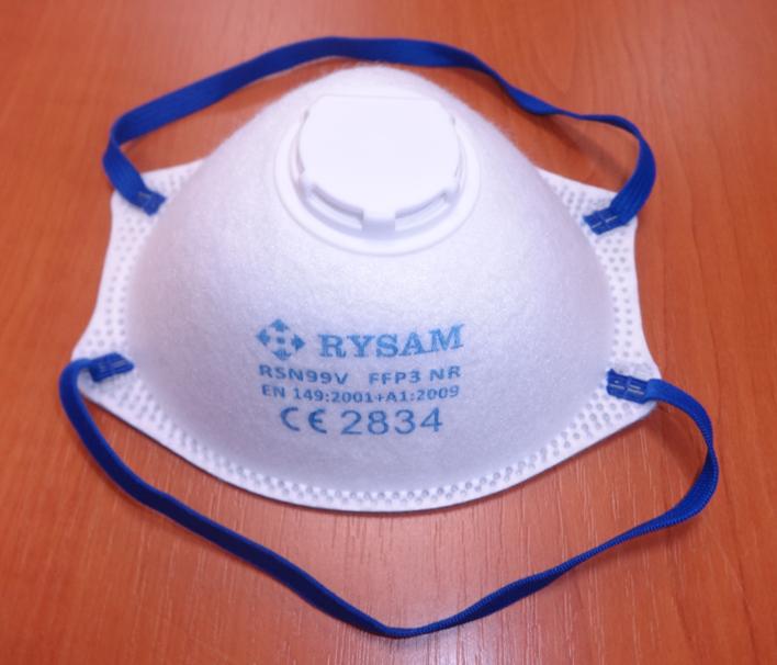 Respirátor FFP3 tvarovaný s ventilkem