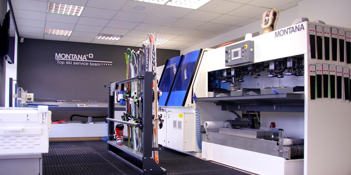 Jsme vybaveni nejmodernějšími, profesionálními stroji od MONTANA SWISS