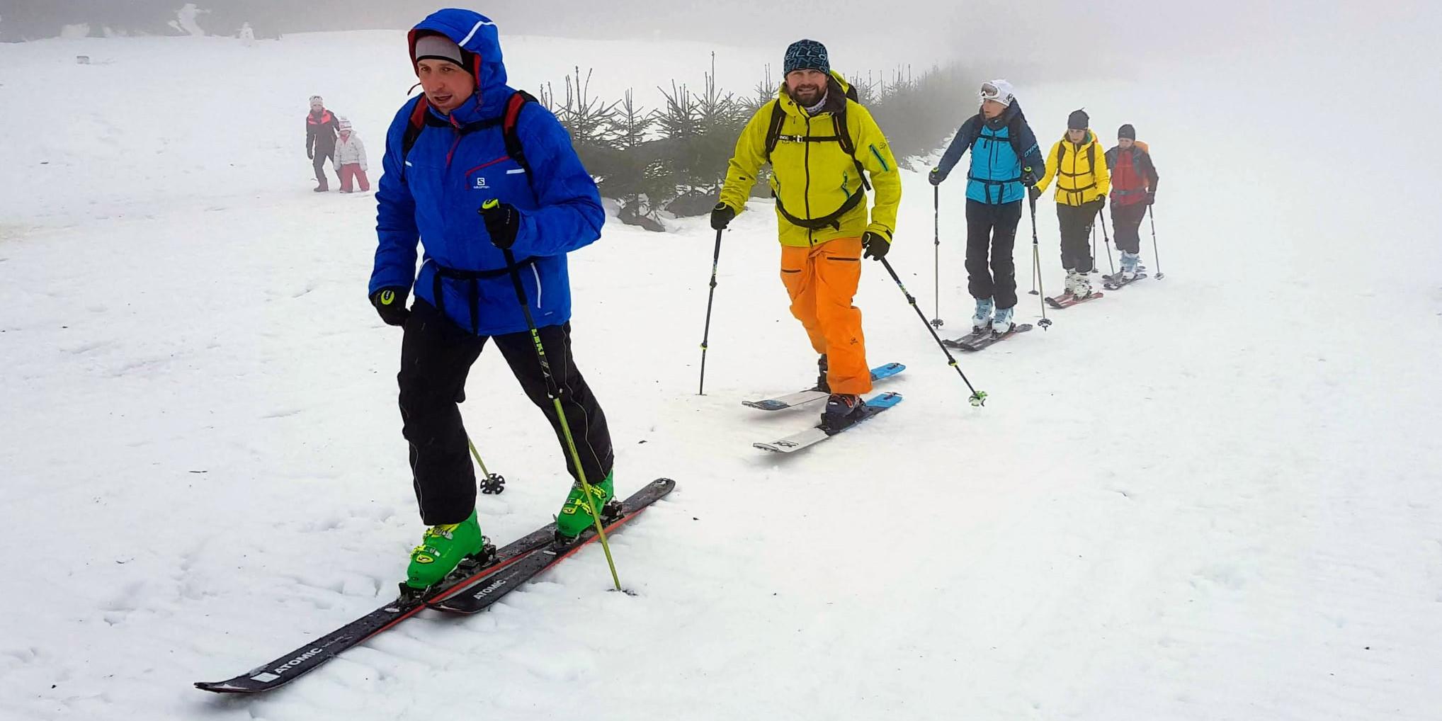 Skialpinismus dává obrovský pocit svobody, říkají ti, kdo jej vyzkoušeli