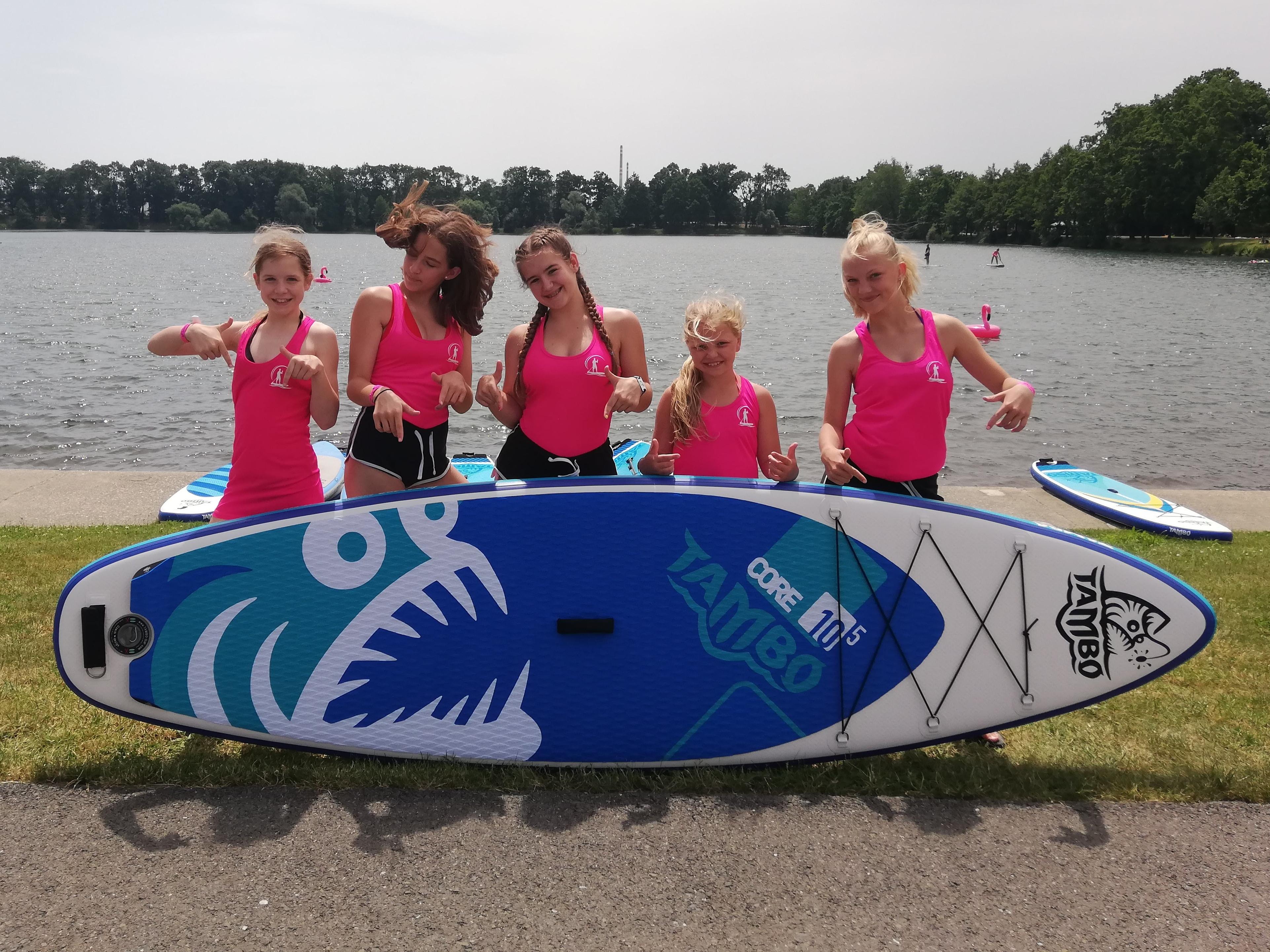 V létě na paddleboard s Tambikem