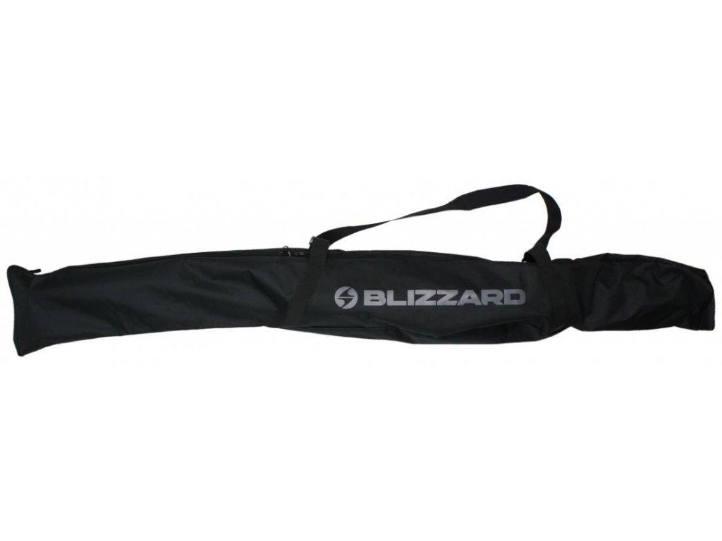 BLIZZARD Ski Bag Premium for 1 pair Black/Silver 160-180 cm