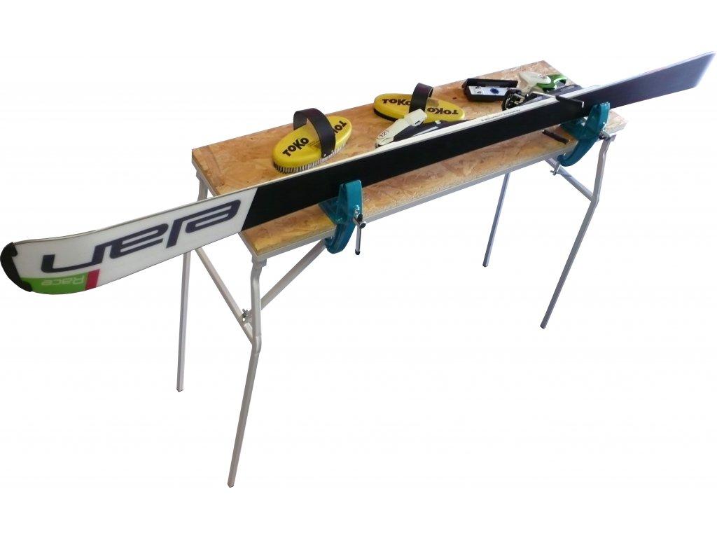 Profesionální skládací servisní stůl 100x30cm
