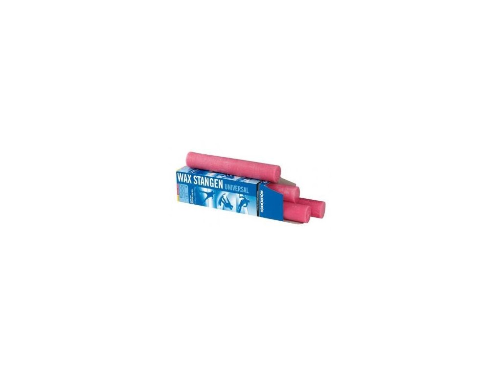 HOLMENKOL Universal Wax Bar Pink 4x250g