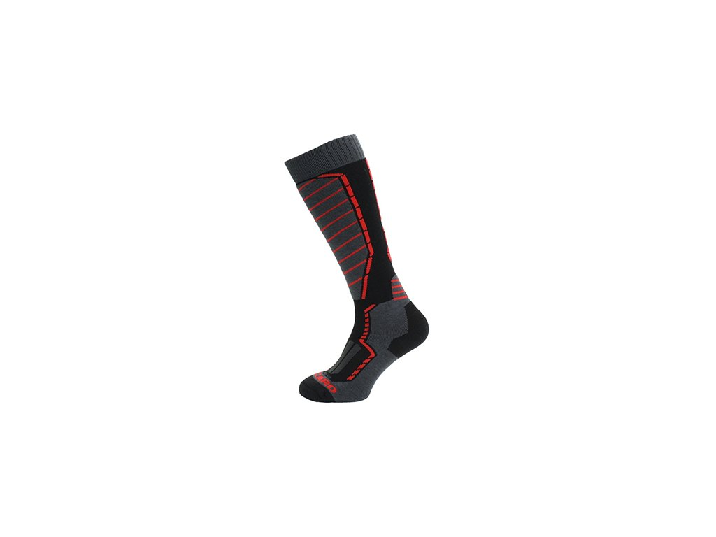 Ponožky BLIZZARD Profi Black/Anthracite/Red